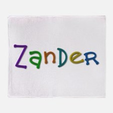 Zander Play Clay Throw Blanket