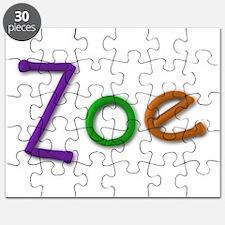 Zoe Play Clay Puzzle