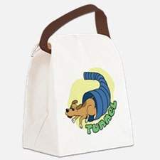 tunnel_ornament Canvas Lunch Bag