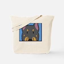 anime_beauceron_blk Tote Bag