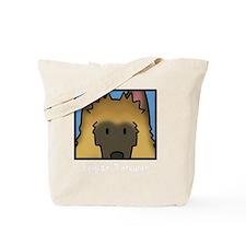 anime_belgiantervuren_blk Tote Bag