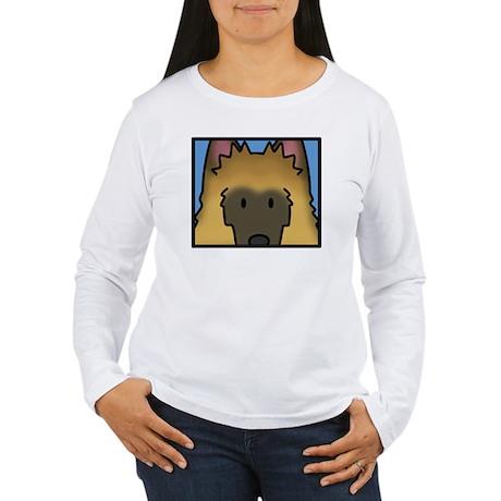 anime_belgiantervuren_ Women's Long Sleeve T-Shirt