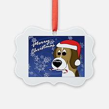 beagle_card Ornament
