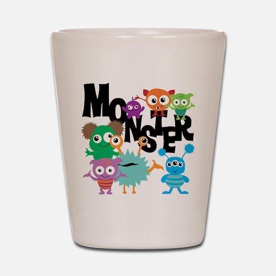 Monsters Shot Glass