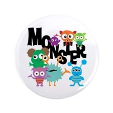 "Monsters 3.5"" Button"