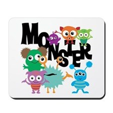 Monsters Mousepad