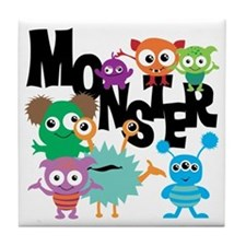 Monsters Tile Coaster