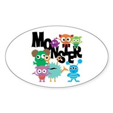 Monsters Decal