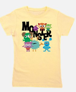 Monsters Girl's Tee