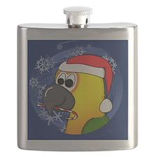 candycane_jenday_ornament Flask