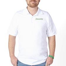 Smoothie Golf Tea Shirt