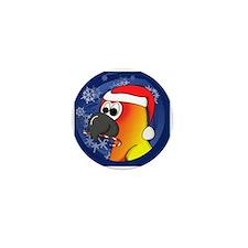 candycane_sunconure_ornament Mini Button