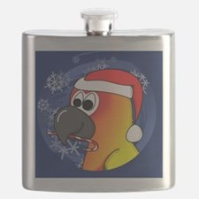 candycane_sunconure_ornament Flask