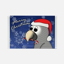 candycane_timneh_card Rectangle Magnet