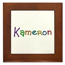 Kameron Play Clay Framed Tile