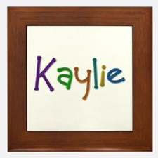 Kaylie Play Clay Framed Tile