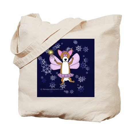 sugarplumcorgi_tile Tote Bag