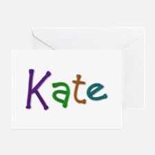 Kate Play Clay Greeting Card