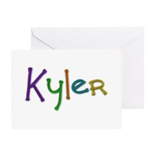 Kyler Play Clay Greeting Card