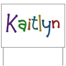 Kaitlyn Play Clay Yard Sign