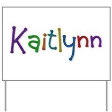 Kaitlynn Play Clay Yard Sign