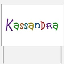 Kassandra Play Clay Yard Sign