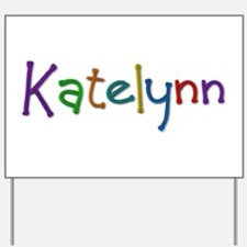 Katelynn Play Clay Yard Sign