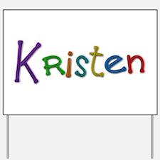 Kristen Play Clay Yard Sign