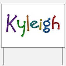 Kyleigh Play Clay Yard Sign