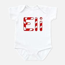 Eli - Candy Cane Infant Bodysuit