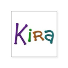 Kira Play Clay Square Sticker