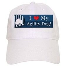 loveagilitydog_blue Baseball Cap