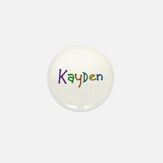 Kayden Play Clay Mini Button