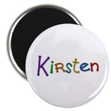Kirsten Play Clay Round Magnet