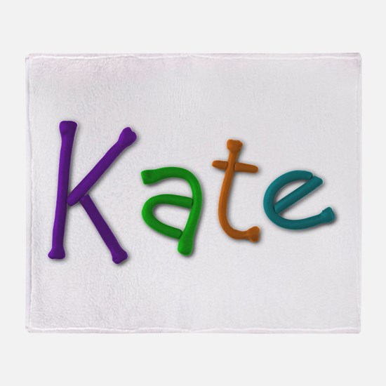 Kate Play Clay Throw Blanket