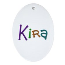 Kira Play Clay Oval Ornament
