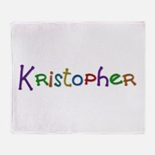 Kristopher Play Clay Throw Blanket