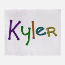 Kyler Play Clay Throw Blanket