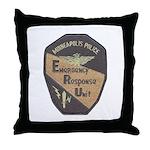 Minneapolis PD E.R.U. Throw Pillow