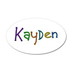 Kayden Play Clay Wall Decal