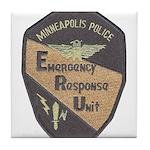 Minneapolis PD E.R.U. Tile Coaster