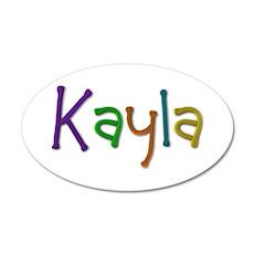 Kayla Play Clay Wall Decal