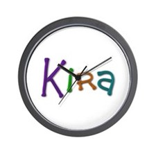 Kira Play Clay Wall Clock