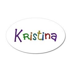 Kristina Play Clay Wall Decal