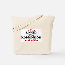 Loved: Komondor Tote Bag
