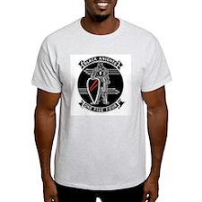 VF-154 Black Knights Ash Grey T-Shirt