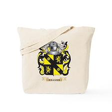 Kramer Coat of Arms - Family Crest Tote Bag