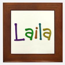 Laila Play Clay Framed Tile