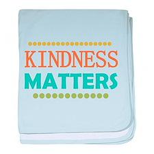Kindness Matters baby blanket