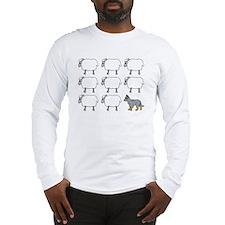 auscattle_herding_blk Long Sleeve T-Shirt